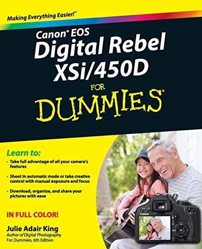 9780470385371: Canon EOS Digital Rebel XSi/450D for Dummies