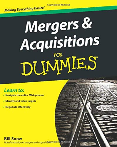9780470385562: Mergers and Acquisitions For Dummies