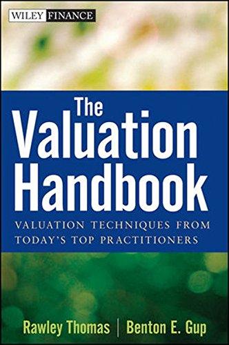 The Valuation Handbook: Rawley Thomas