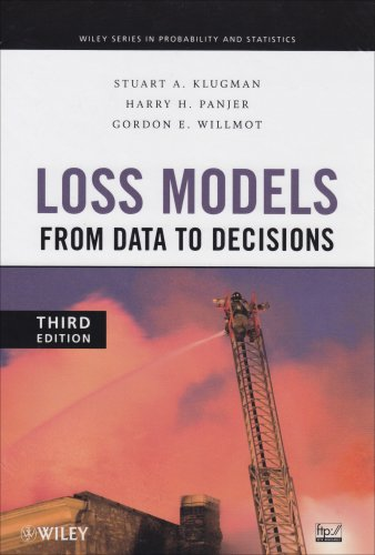 9780470386194: Loss Models: From Data to Decisions 3rd Edition + Solutions Manual Set (Wiley Series in Probability and Statistics)