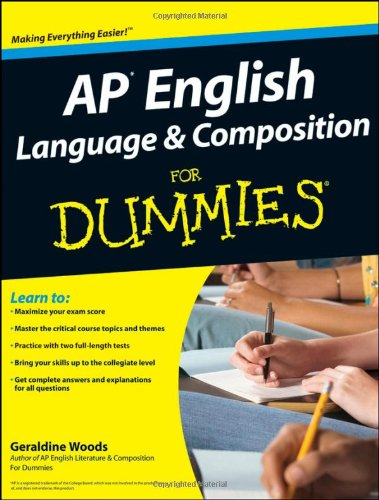 9780470386408: AP English Language and Composition For Dummies