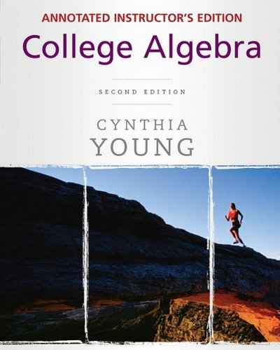 9780470387382: College Algebra, Annotated Instructor's Edition