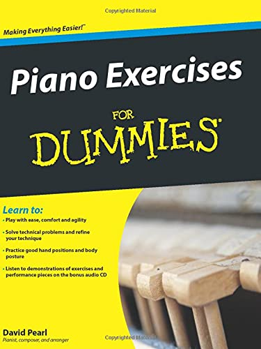 9780470387658: Piano Exercises For Dummies