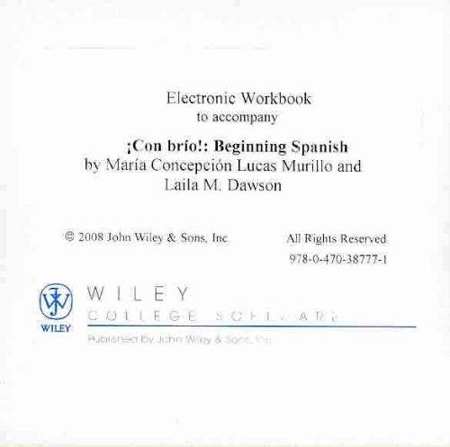 9780470387771: Con brio 1st Edition Quia Workbook