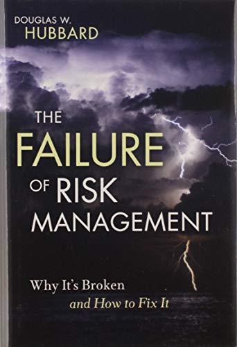 The Failure of Risk Management: Douglas W. Hubbard