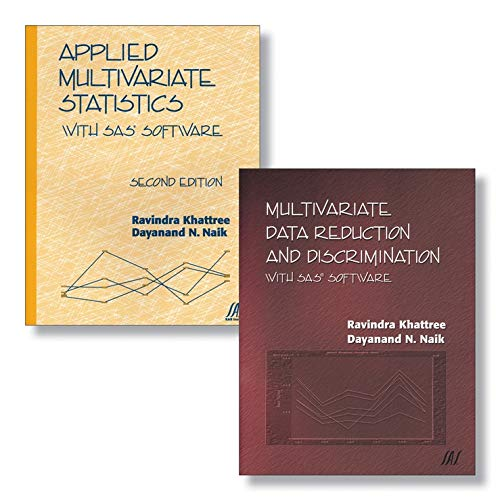 9780470388051: Applied Multivariate Statistics With SAS Software and Multivariate Data Reduction and Discrimination with SAS Software