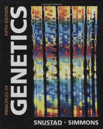 9780470388259: Principles of Genetics 5E