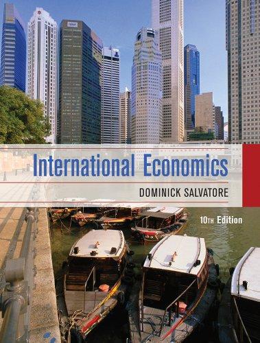 9780470388341: International Economics