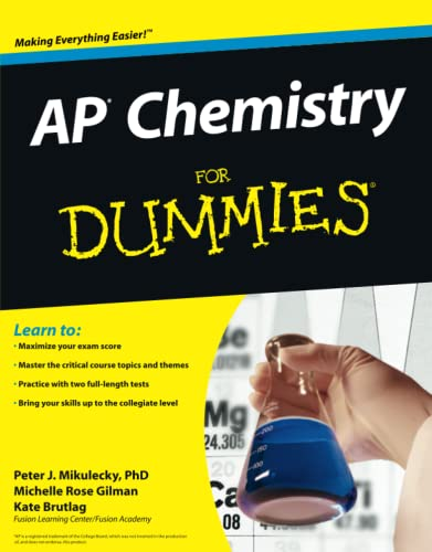 9780470389768: AP Chemistry For Dummies