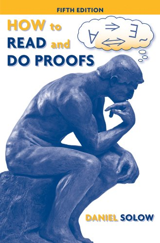 9780470392164: How to Read and Do Proofs: An Introduction to Mathematical Thought Processes