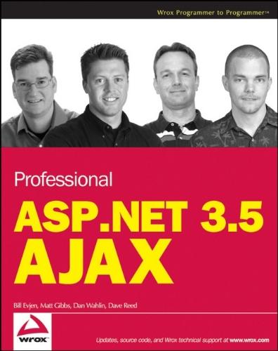 9780470392171: Professional ASP.NET 3.5 AJAX