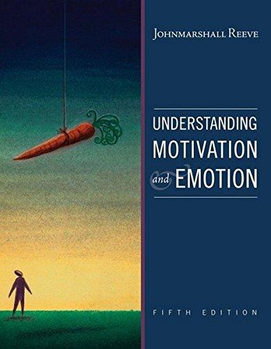 9780470392232: Understanding Motivation and Emotion