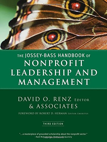 9780470392508: The Jossey-Bass Handbook of Nonprofit Leadership and Management
