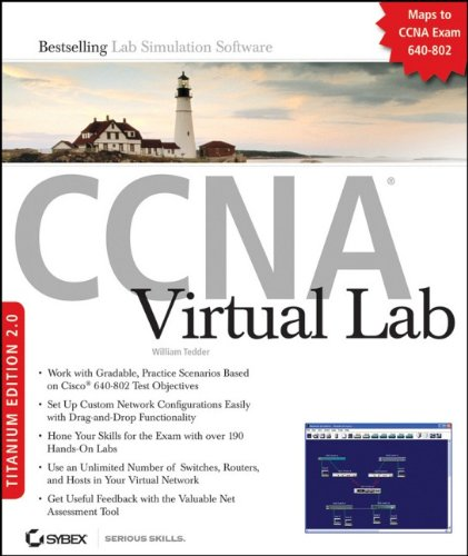 9780470392591: CCNA Virtual Lab, Titanium Edition 2.0: Exam 640-802