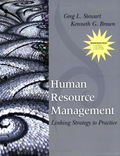 9780470393130: Human Resource Management: Linking Strategy to Practice