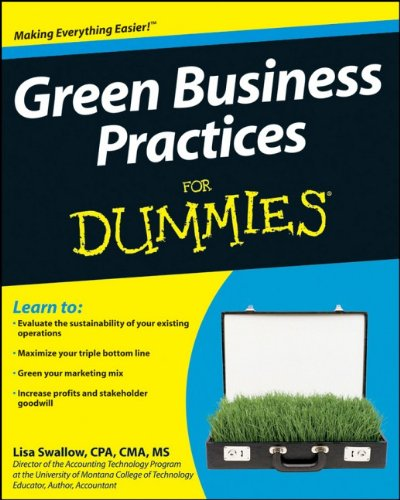 9780470393390: Green Business Practices For Dummies