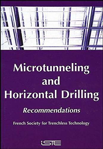 9780470394380: Microtunneling and Horizontal Drilling: Recommendations