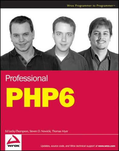 9780470395097: Professional PHP6 (Wrox Programmer to Programmer)
