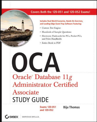 9780470395127: OCA Oracle Database 11g Administrator Certified Associate: Exams 1Z0-051 and 1Z0-052
