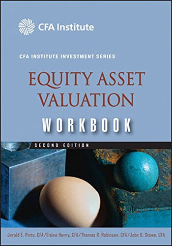 9780470395219: Equity Asset Valuation Workbook (CFA Institute Investment Series)