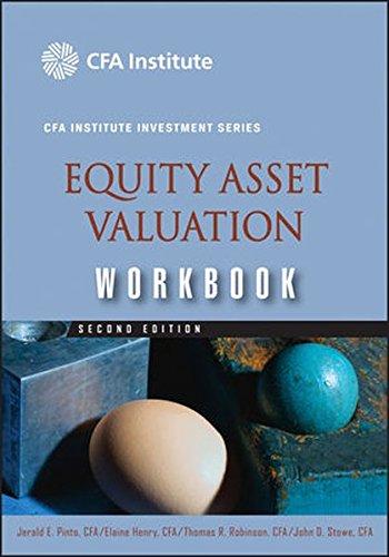 9780470395219: Equity Asset Valuation Workbook