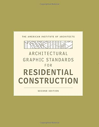 9780470395837: Architectural Graphic Standards for Residential Construction