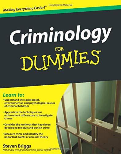 9780470396964: Criminology For Dummies