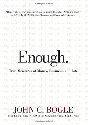 9780470398517: Enough: True Measures of Money, Business, and Life