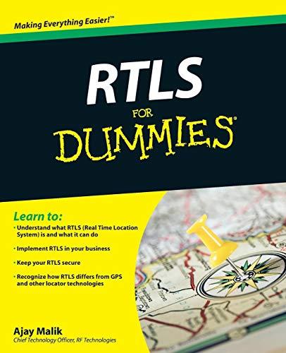 9780470398685: RTLS For Dummies