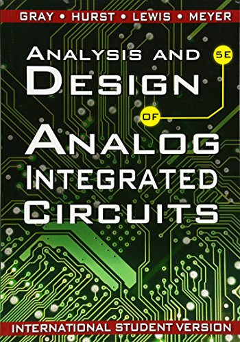 9780470398777: Analysis and Design of Analog Integrated Circuits