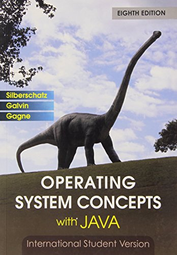 9780470398791: Operating System Concepts with Java 8th Edition International Student Versi