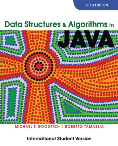 9780470398807: Data Structures and Algorithms in Java, International Student Version, 5th