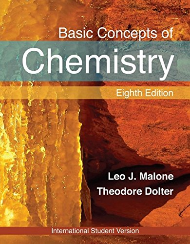 9780470398906: Basic Concepts of Chemistry