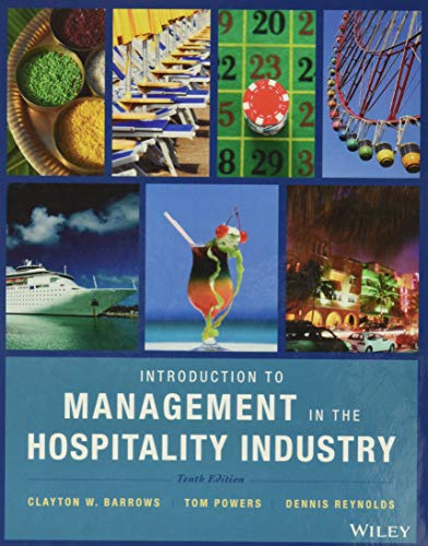 9780470399743: Introduction to Management in the Hospitality Industry