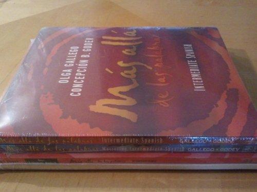 9780470400166: Mas Alla De Las Palabras: Student Text, Activity Manual and CD Bk. 1 & 2: Intermediate Spanish