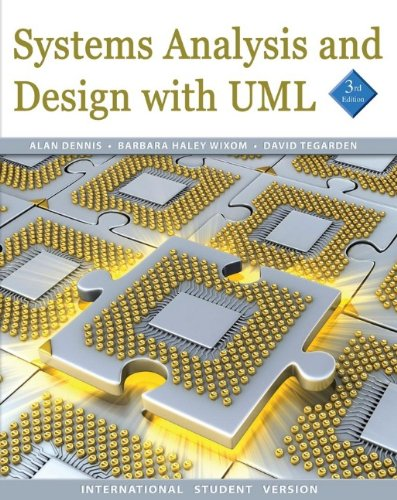 9780470400302: Systems Analysis and Design with UML