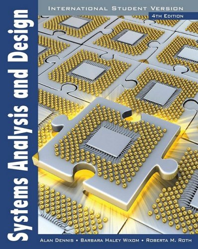 9780470400319: Systems Analysis and Design