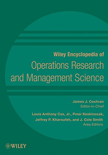 Wiley Encyclopedia of Operations Research and Management: Cochran, James J.;