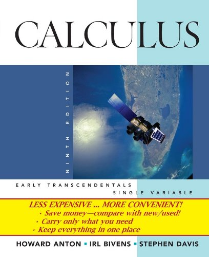 9780470400982: Calculus Early Transcendentals Single Variable, 9th Edition