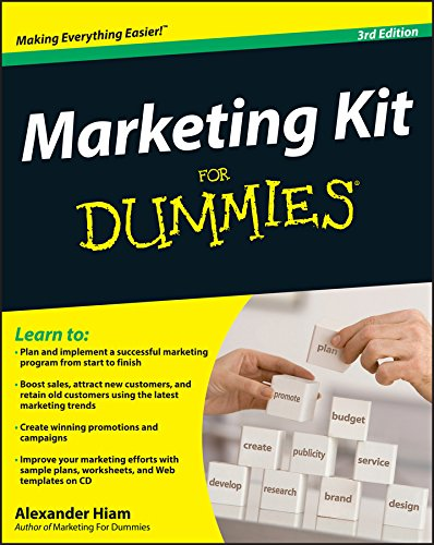 9780470401156: Marketing Kit For Dummies