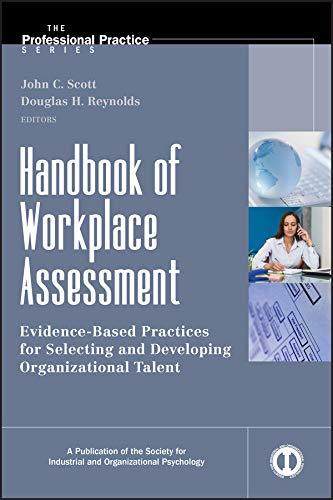 9780470401316: Handbook of Workplace Assessment