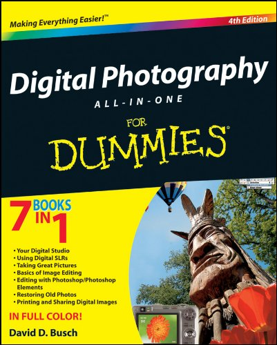 9780470401958: Digital Photography All-In-One for Dummies
