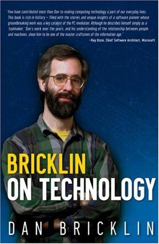 9780470402375: Bricklin on Technology