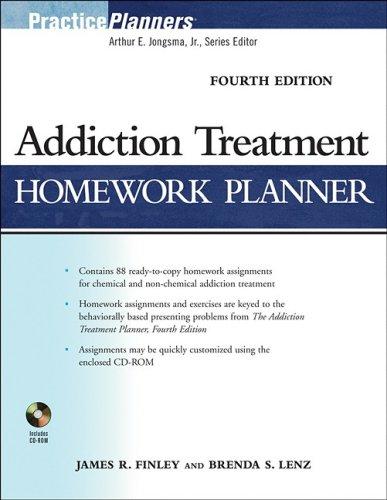 Addiction Treatment Homework Planner: Lenz, Brenda S.,