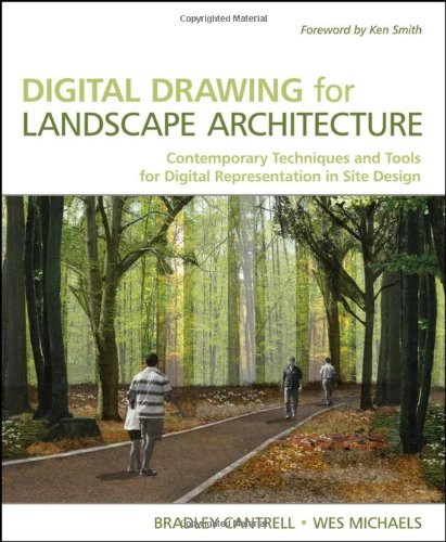 9780470403976: Digital Drawing for Landscape Architecture: Contemporary Techniques and Tools for Digital Representation in Site Design