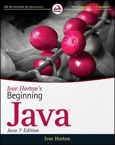 9780470404140: Ivor Horton's Beginning Java
