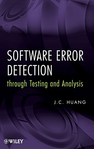 9780470404447: Software Error Detection through Testing and Analysis