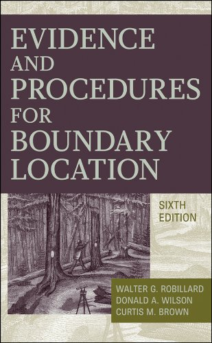 9780470404782: Evidence and Procedures for Boundary Location
