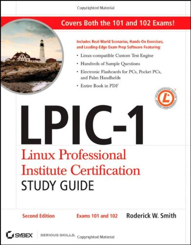 9780470404836: LPIC-1 Linux Professional Institute Certification Study Guide: Exams 101 and 102