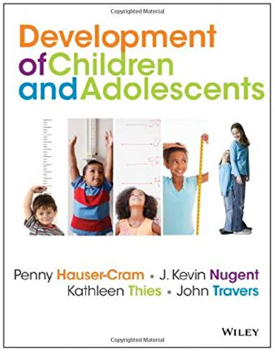 9780470405406: The Development of Children and Adolescents: An Applied Perspective